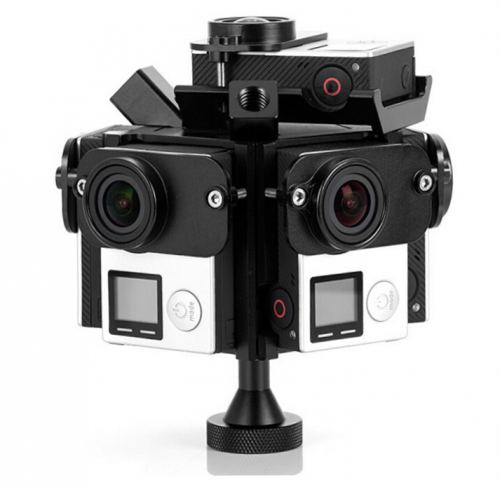 PG4-6A 360VR Panoramic Rig Aerial Edition