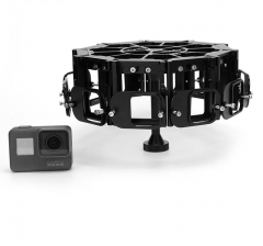 PG5-10 360VR Panoramic Rig For GoPro Hero5/6