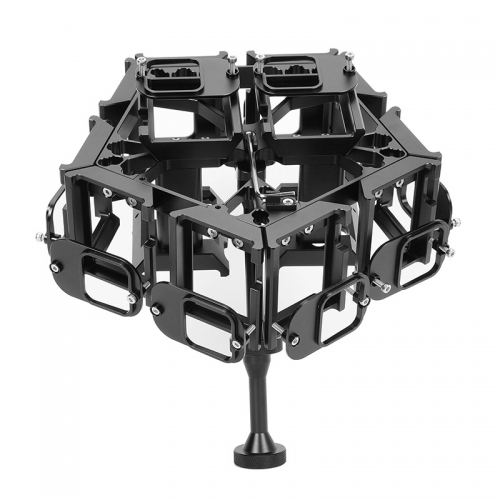 PG5-14-3D 360VR   Panoramic Rig For GoPro Hero5/6