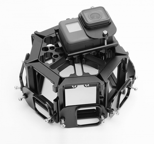 PG5-8 360VR Panoramic Rig For GoPro Hero5/6
