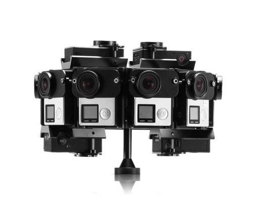 PG4-14 360VR Panoramic Rig For GoPro Hero3/3+/4