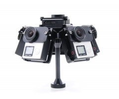 PG4-6F 360VR Panoramic Rig For GoPro Hero3 3+ 4