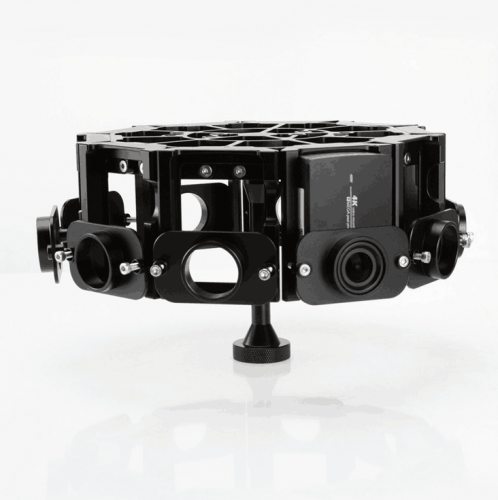 PGY-10 360VR Panoramic Rig For YI 4K action camera