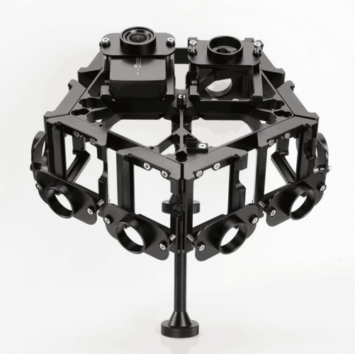 PGY-12 3D 360VR Panoramic Rig For YI 4K action camera