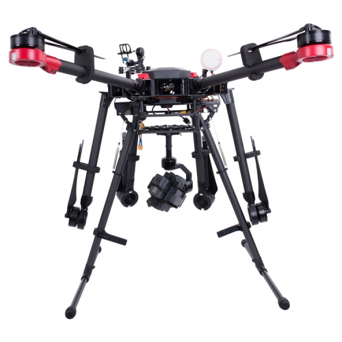 Lesmo 360VR Stabilizer Gimbal Intergrated With Rig For Aerial Filming