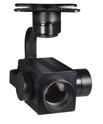 PL330F 30X Optical Zoom Drone Camera + Stabilizer Gimbal 1080P