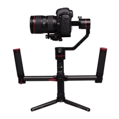A1 3-Axis Stabilizer Gimbal For DSLR Cameras w/Convertible Dual handle bar