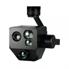 PZ10TIR-M 10x IR-EO Optical Zoom Camera Gimbal w/ Laser Distance Measurement