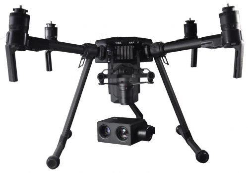 PZ10NLT 10x Zoom Camera Gimbal w/IR Night Vision For DJI Matrice 200 / M201 / M210RTK