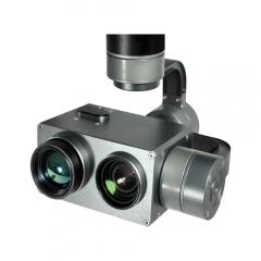 PZ10TIR-TM Dual Sensor IR-EO 10x Optical Zoom Camera Gimbal w/Thermodetector